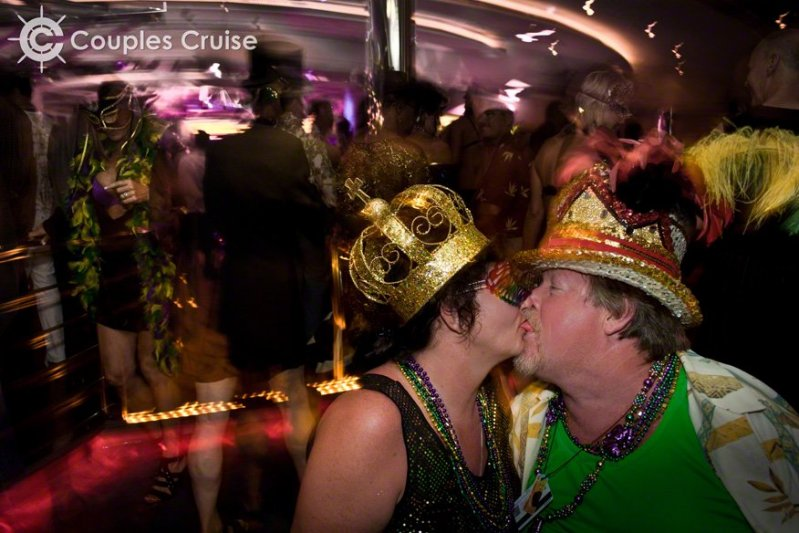 Mardi Gras night magic!